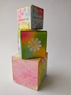 Crafting ideas from Sizzix UK: Artist Trading Blocks