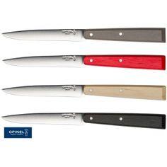 Set de 4 couteaux de table OPINEL    #artdelatable #cuisine #kitchen #decoration #ustensiles #table #couteaux #opinel