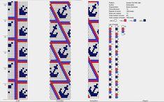 Bead crochet pattern, 12 around Crochet Bracelet Pattern, Loom Crochet, Loom Bracelet Patterns, Crochet Beaded Bracelets, Bead Crochet Patterns, Bead Crochet Rope, Jewelry Patterns, Beading Patterns, Loom Beading