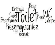 synoniemen voort toilet
