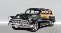 1953 Buick Roadmaster - Woody Wagon | Classic Driver Market