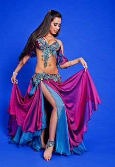 roupas luxuosas para danca do ventre