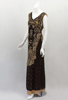 Edwardian Clothing at Vintage Textile: 1912 Titanic evening dress