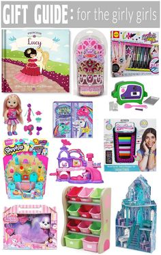 Gift Guide for the Girly Girls! From storage to dolls, we have it!