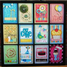Birthday Bash Party Decoration Printers Tray
