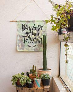 Bandeiras  e flâmulas de parede na decoração da sua casa e jardim.