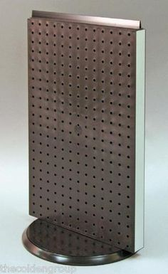New Rotating Black 2 Sided Pegboard Counter Spinner Display Rack | eBay