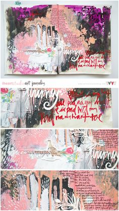 Video Tutorial by Wilna Art Journaling is like yoga for the soul.