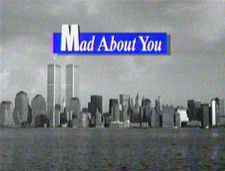 Mad About You is an American sitcom that aired on NBC from 1992 to 1999. The show stars Paul Reiser and Helen Hunt as a newly married couple in New York City. Reiser played Paul Buchman, a documentary film maker. Hunt played Jamie Stemple Buchman, a public relations specialist. Near the end of the show's run, the couple had a baby daughter, whom they named Mabel.
