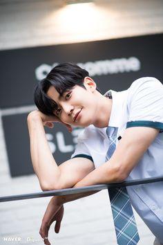 "NAVER × Dispatch promotion for ""Extraordinary You"" Drama Jung Hyun, Kim Jung, Kim Ro Woon, Kim Myung Soo, Cha Eun Woo, Kdrama Actors, Boyfriend Material, Korean Actors, Korean Celebrities"