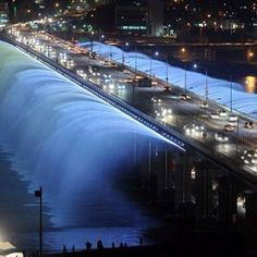Banpo bridge  Korea