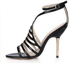 Elegante scarpa estiva con tacco dorato e misure disponibili fino al 43 deaf6155565