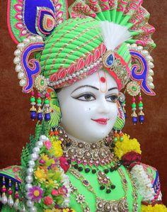 Rupala Shree Ghanshyam maharaj 13-08-2016 Jai Shree Krishna, Lord Mahadev, Koi, Captain Hat, Religion, Culture, Writing, Hats, Life