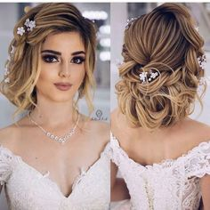 Low Chignon is really a smooth bridal hair messy bun which appears incredibly lovely on bridesmaid t Best Wedding Hairstyles, Bride Hairstyles, Messy Hairstyles, Hairstyles Videos, Wedding Hair Clips, Wedding Hair And Makeup, Low Chignon, Bridal Hairdo, Bridal Chignon