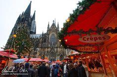 #Weihnachtsmarkt am Kölner Dom / Christmas market at the #Cologne Cathedral