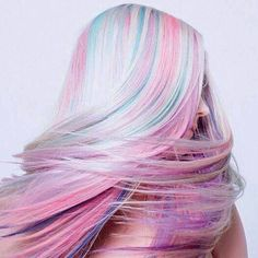 Pastel Hair - The New Trend