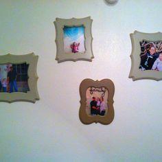 My poppy tree frames