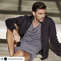 Light morning breeze / Légère brise matinale #SHAN #shanswimwear #resortwear #men #comfort #trend @poirierjf_official  @shanswimwear ・・・
