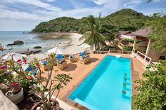 Pool and Sun Deck at Crystal Bay Beach Resort Koh Samui Thailand http://www.crystalbaykohsamui.com