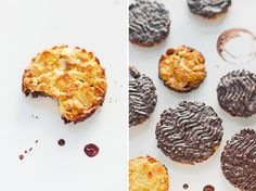 zap*: I made florentines again. The pretty ones with a c...