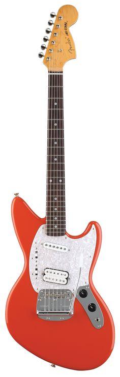 Thanks honey. One of the coolest guitars I own. Fender Jagstang, Guitare Fender Stratocaster, Gretsch, Fender Bass Guitar, Fender Electric Guitar, Guitar Rack, Cool Electric Guitars, Music Guitar, Cool Guitar
