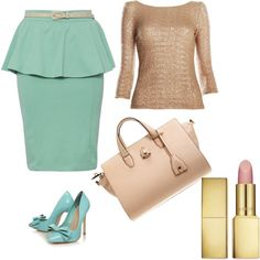 """""""mint"""" by belezadeester on Polyvore"""