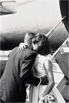Jackie and Jack hug and kiss goodbye.