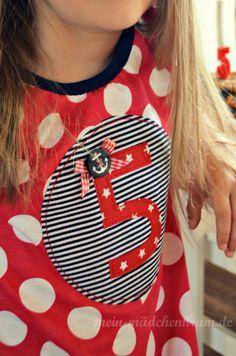 Geburtstags-Shirt  von Mädchenkram 17.08.2012