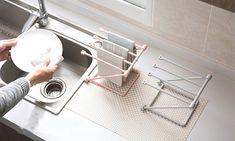 1x oder 2x Geschirrtuch-Halter in der Farbe nach Wahl
