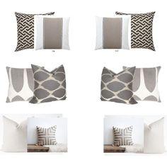 """$10 Design Q's   pillows"" by sarahswansondesign on Polyvore"