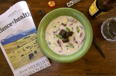 This week's Wild Idea Buffalo Recipe of the Week is a Reuben Chowder. The name, Reuben Chowder, just sounds like a Comfort Food dream! Made with Wild Idea Corned Buffalo along with Cabbage, Onions, Swiss Cheese, Spices, and more! This is sure to please. You can find this recipe and purchase the Wild Idea Corned Buffalo all on the Wild Idea Buffalo website. http://wildideabuffalo.com/