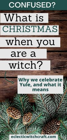 Winter solstice traditions: Why witches celebrate Yule instead of Christmas. Pagan Christmas traditions. Happy winter solstice. #yule #christmas #witch #witchcraft #pagan #wicca
