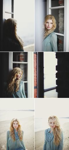 beautiful shots through window, I espech love the one where she's looking out the window