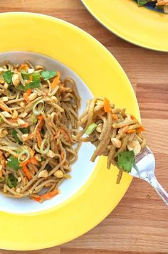 Soba Noodles with Pe