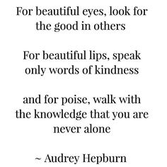 Quote of the day ♡ #audreyhepburn #quote #beauty #blackandwhite #quotes #mua  #beautyquotes