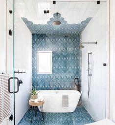 Useful Walk-in Shower Design Ideas For Smaller Bathrooms – Home Dcorz Bad Inspiration, Bathroom Inspiration, Bathroom Ideas, Bathroom Designs, Bathroom Inspo, Bathroom Styling, Bathroom Organization, Relaxing Bathroom, Bathroom Trends
