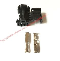 10 Set Wire Harness Connector 2 Pin