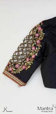 Handmade with Love and Labour. Designer blouse from Mantra designer studio.03 February 2017