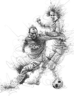 World Cup 2014 by Vince Low, via Behance
