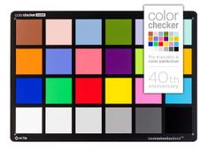 Colorchecker Classic - Camera & Image Calibration: X-Rite Photo & Video