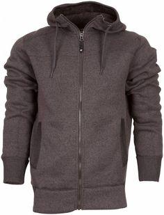 George Winter Heren Fleece Jas Donkergrijs.  Een heerlijke winter gevoerde fleece jas met verstelbare capuchon, hoog isolerend vermogen. Een ideaal jack voor de koudere droge dagen om in te wandelen. De wandeljas is verder voorzien van 2 steekzakken. € 89.95