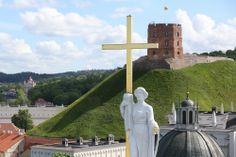 Neįtikėtini vaizdai iš Vilniaus katedros varpinės - DELFI galerijos
