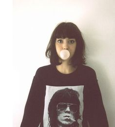 Taylor Lashae bob with bangs My Hairstyle, Hairstyles With Bangs, Cool Hairstyles, Hairstyles 2018, Fringe Hairstyles, Short Hair With Bangs, Short Hair Styles, New Hair, Your Hair