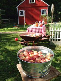 Fall Apple Bobbing Party