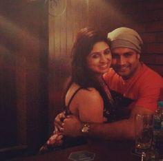 Super adorable pictures of cutest couple of TV Vivian Dsena and Vahbbiz Dorabjee