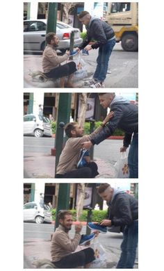 #Humanity #Kindness | This made me want to cry :( ♥