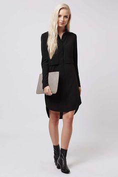 Hybrid Shirt Dress - Dresses - Clothing - Topshop USA