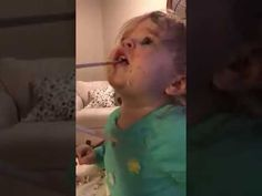 For licensing/usage please contact: licensing(at)jukinmediadotcom This little girl decided she wanted to try wasabi after seeing her parents eat it at the di. Baby Eating, Rough Day, Brain Breaks, Girl Humor, Funny Pictures, Funny Pics, Regrets, Cat Day, Happy New Year