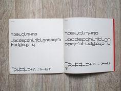 Wim Crouwel – New Alphabet Quadrat Print by insect54, via Flickr
