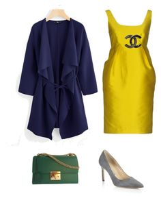 Родственные оттенки by irina-o on Polyvore featuring polyvore, fashion, style, P.A.R.O.S.H., Manolo Blahnik, Gucci, Chanel and clothing